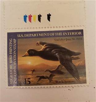 US Department of the Interior $15 stamp