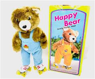 Happy Bear: The Lovely Roller Bear