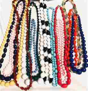 Vintage Beaded Necklace Grouping