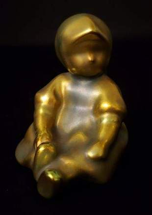 """Zsolnay Pecs Made in Hungary 3"""" tall"""