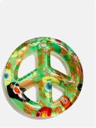 Murano Milifori Venetian Art Glass Pendant/Paperweight