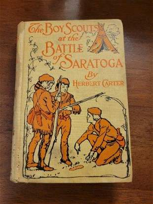 The Boy Scouts at the Battle of Saratoga by Herbert