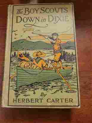 The Boy Scouts Down in Dixie by Herbert Carter