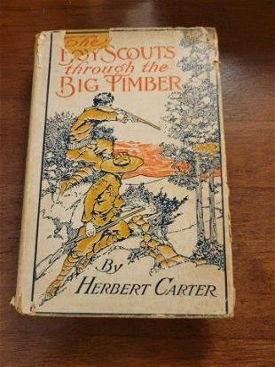 The Boy Scouts through the Big Timber by Herbert Carter