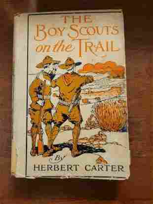 The Boy Scouts on the Trail by Herbert Carter