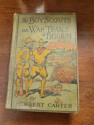 The Boy Scouts on War Trails in Belgium by Herbert