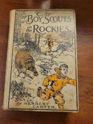 The Boy Scouts in the Rockies by Herbert Carter