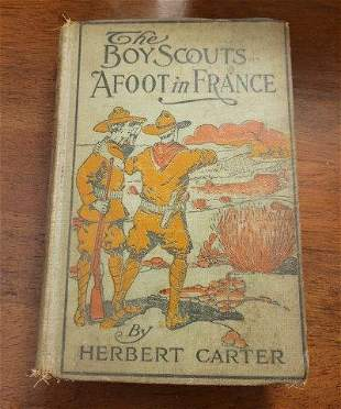 The Boy Scouts A Foot in France by Herbert Carter