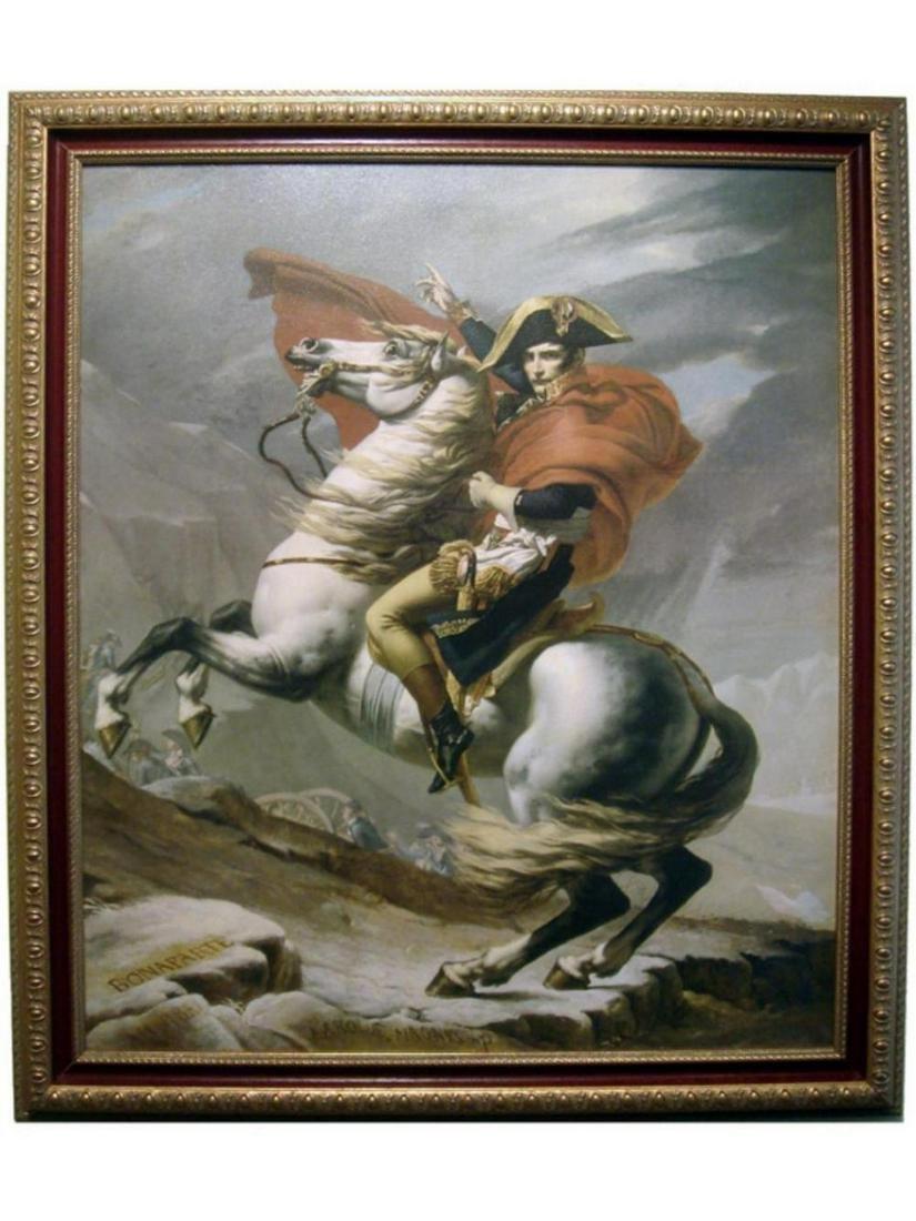 Bonaparte at St Bernard Pass, Pewter Figurine