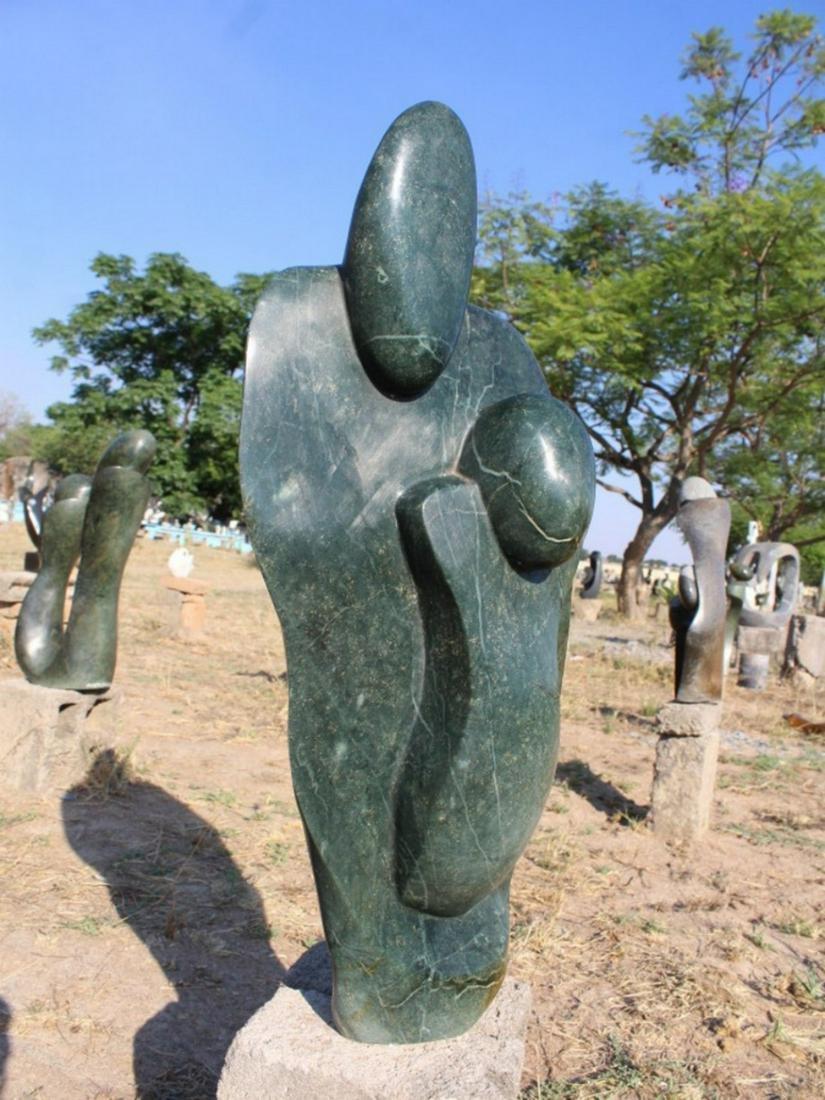 My Heart Belongs to You | Shona Stone Sculpture