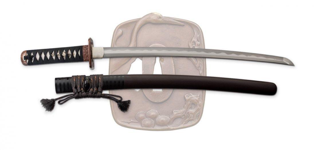 SD35300, Pine Crane Wakizashi, Dragon King