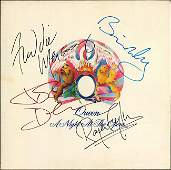 Queen Signed A Night At The Opera Album