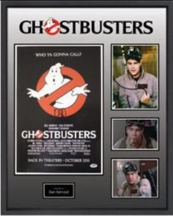 Ghostbusters Signed Poster- PSA