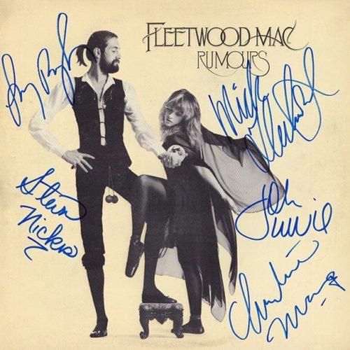 Fleetwood Mac Rumours signed Album