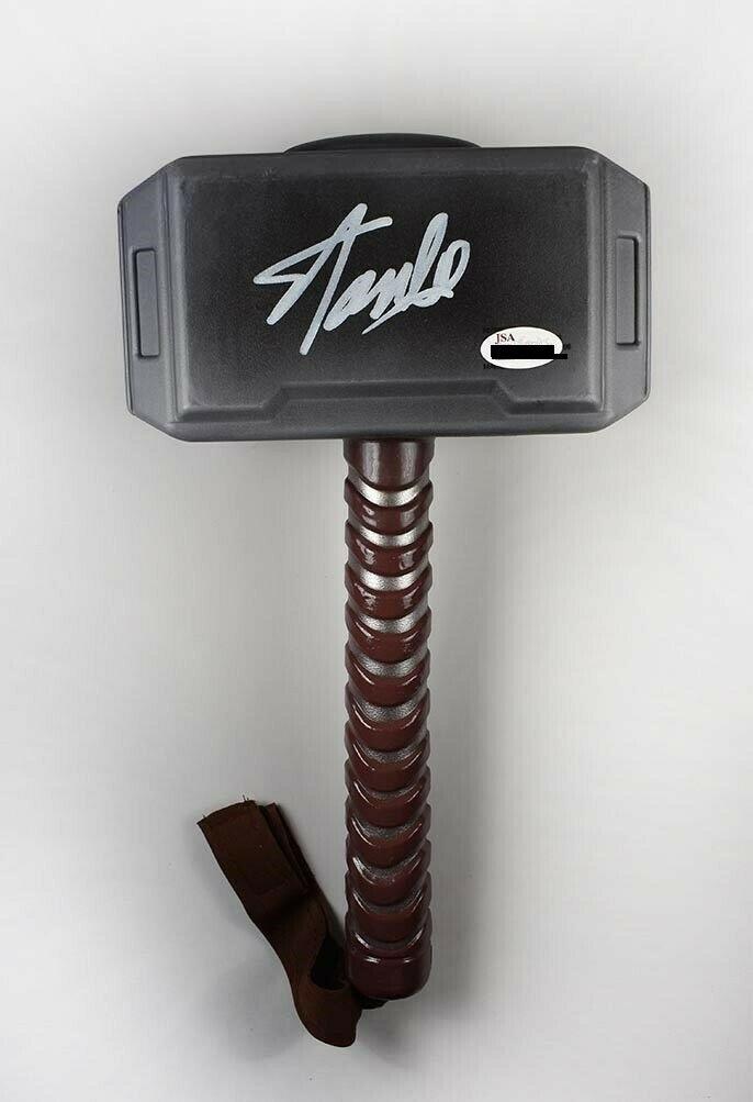 Stan Lee signed Thor Hammer- JSA
