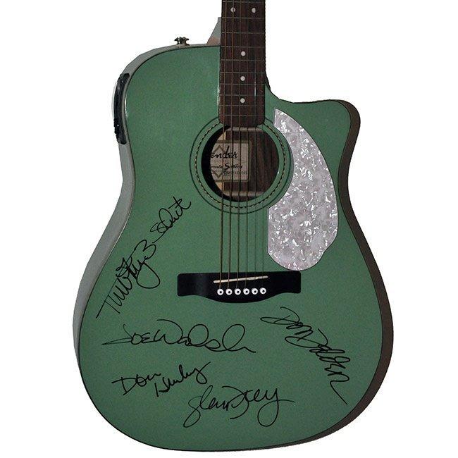Signed Eagles Guitar