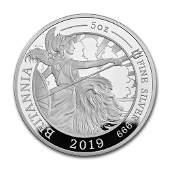 2019 Great Britain 5 oz Proof Silver Britannia