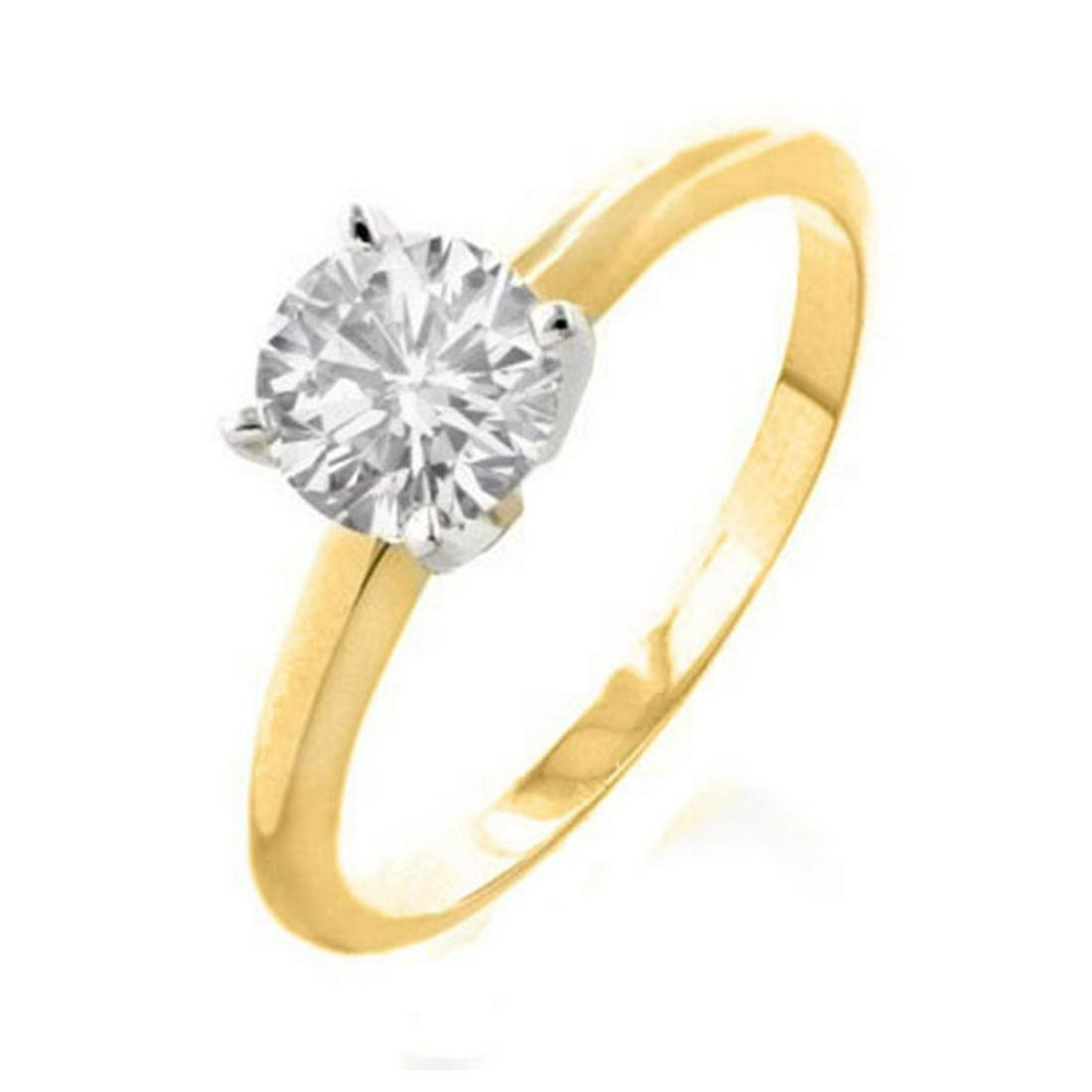 1.50 ctw VS/SI Diamond Ring 14K Yellow Gold