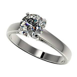 150 ctw HSII Diamond Ring 10K White Gold