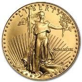 1989 1 oz Gold American Eagle BU MCMLXXXIX