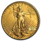 20 SaintGaudens Gold Double Eagle Cleaned