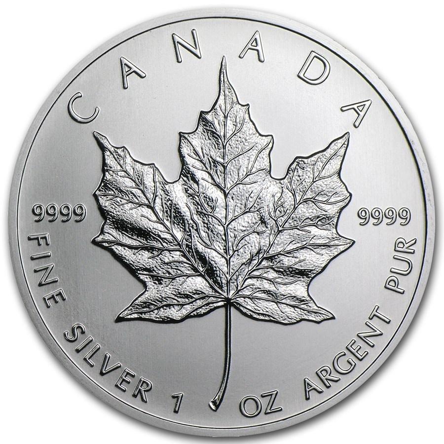2013 Canada 1 oz Silver Maple Leaf BU