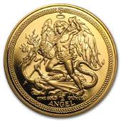 Isle of Man 12 oz Gold Angel BUProof Random Year
