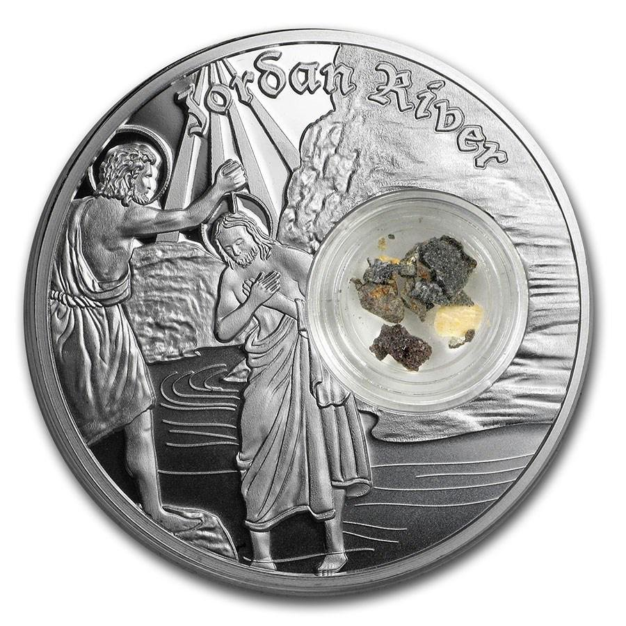 2020 Niue 1 oz Silver $2 In the Footsteps of Jesus