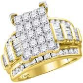 10kt Yellow Gold Womens Round Diamond Cindys Dream