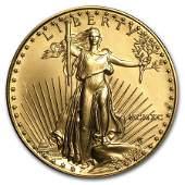 1990 1 oz Gold American Eagle BU MCMXC