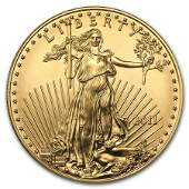 2011 1 oz Gold American Eagle BU