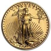 2001 110 oz Gold American Eagle BU