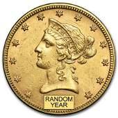 10 Liberty Gold Eagle AU Random Year