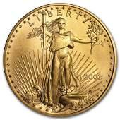 2003 1 oz Gold American Eagle BU
