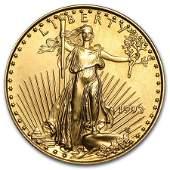 1993 14 oz Gold American Eagle BU