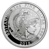 2018 Great Britain 1 oz Proof Silver Britannia Coin
