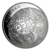 2012 Fiji 5 oz Silver 10 Taku BU