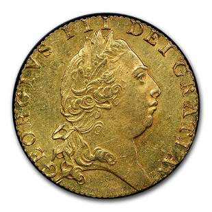1793 Great Britain Gold Guinea George III MS-63 PCGS