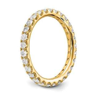 Natural 2.02 CTW Round Brilliant Diamond Eternity Band