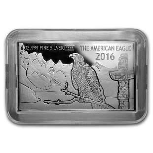2016 Fiji 1 oz Silver 30th Anniv of the American Silver