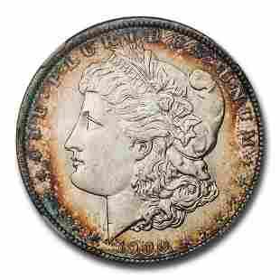 1900-O Morgan Dollar MS-65 NGC CAC (Beautiful Toning)