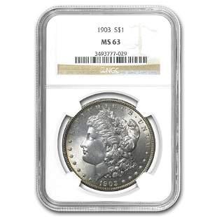 1903 Morgan Dollar MS-63 NGC