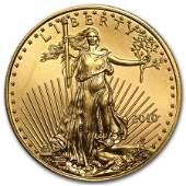 2010 1/2 oz Gold American Eagle BU
