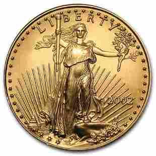 2002 1/2 oz Gold American Eagle BU