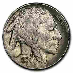 1917-S Buffalo Nickel AU