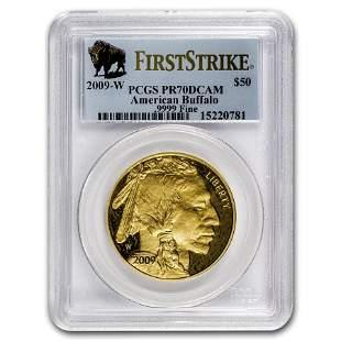 2009-W 1 oz Proof Gold Buffalo PR-70 PCGS