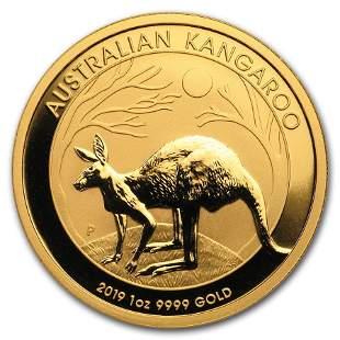 2019 Australia 1 oz Gold Kangaroo BU