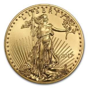 2017 1/4 oz Gold American Eagle BU