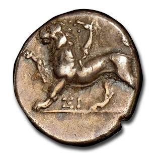 Sicyonia, Sicyon Silver Triobol (350-280 BC) Ch VF NGC