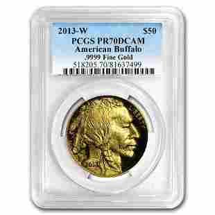 2013-W 1 oz Proof Gold Buffalo PR-70 PCGS
